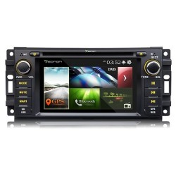 EONON D5177Z GPS 6.2 HD BLUETOOTH JEEP WRANGLER GRAND CHEROKEE COMPASS