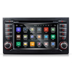EONON GA6158F AUTORADIO SPECIFICO A4 ANDROID GPS QUADCORE 5.1 BLUETOOTH