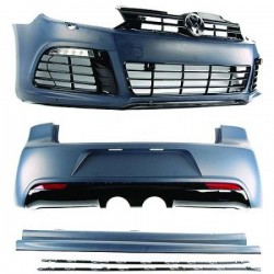 ADC KIT ESTETICO COMPLETO IN ABS VOLKSWAGEN GOLF 6 VI R20 LOOK