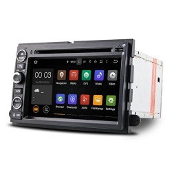 CUSTOM FIT ZK-5074F AUTORADIO FORD EXPLORER FOCUS FUSION ESCAPE EDGE ANDROID