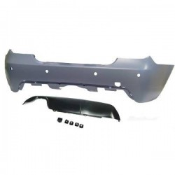 PARAURTI POSTERIORE IN ABS BMW SERIE 5 E60 LOOK M-TECH CON PDC