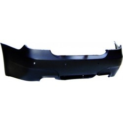 PARAURTI POSTERIORE IN ABS BMW SERIE 5 E60 LOOK M5 CON PDC