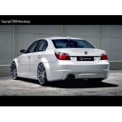 COPPIA ALLARGAMENTI POSTERIORI IBHERDESIGN IN VTR BMW SERIE 5 E60