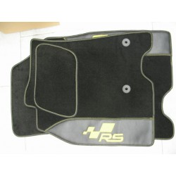 KIT TAPPETI SPECIFICI IN MOQUETTE PER RENAULT MEGANE COUPE' RS III