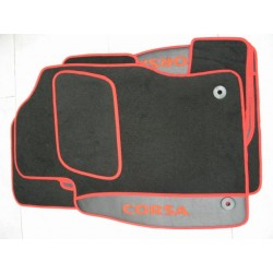 KIT TAPPETI SPECIFICI IN MOQUETTE PER OPEL CORSA D 3 E 5 PORTE