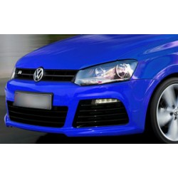 PARAURTI ANTERIORE COMPLETO IN ABS VOLKSWAGEN POLO 6R LOOK R