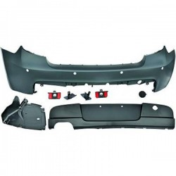 PARAURTI POSTERIORE IN ABS BMW SERIE 1 E87 LOOK M