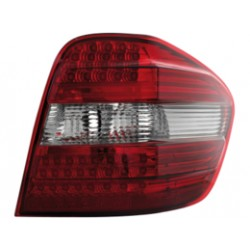 COPPIA DI FANALI POSTERIORI A LED ROSSI MERCEDES ML W164