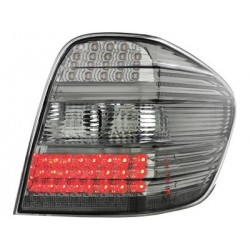 COPPIA DI FANALI POSTERIORI A LED FUME' MERCEDES ML W164
