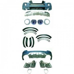 KIT ESTETICO COMPLETO IN ABS MERCEDES ML W164