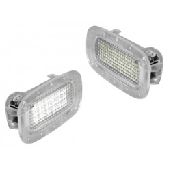 COPPIA LUCI INTERNE A LED BIANCHI MERCEDES ML W164