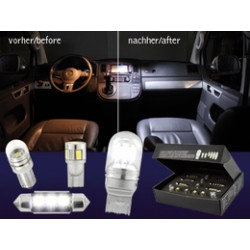 KIT COMPLETO LAMPADE INTERNE A LED AUDI TT 8J