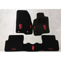 KIT TAPPETI SPECIFICI IN MOQUETTE PER ALFA ROMEO MITO