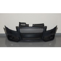 PARAURTI ANTERIORE COMPLETO IN ABS AUDI A4 B7 LOOK RS4