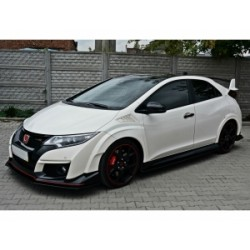 KIT ESTETICO COMPLETO IN ABS HONDA CIVIC MK9 TYPE R