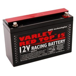 BATTERIA AUTO COMPATTA AL GEL E AL LITIO VARLEY RED TOP 15