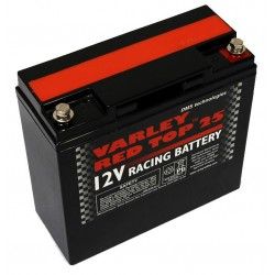 BATTERIA AUTO COMPATTA AL GEL E AL LITIO VARLEY RED TOP 25