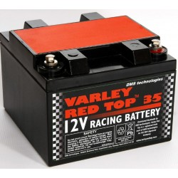 BATTERIA AUTO COMPATTA AL GEL E AL LITIO VARLEY RED TOP 35