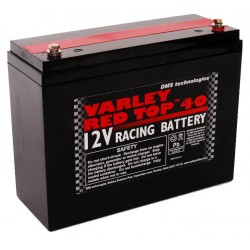 BATTERIA AUTO COMPATTA AL GEL E AL LITIO VARLEY RED TOP 40
