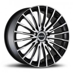 MAK WHEELS CERCHI IN LEGA PANORAMA ICE BLACK DA 19