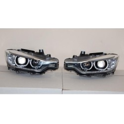 COPPIA DI FARI ANGEL EYES BMW SERIE 3 F30 F31