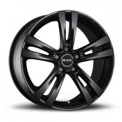 MAK WHEELS CERCHI IN LEGA ZENITH MATT BLACK DA 19
