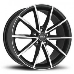 MAK WHEELS CERCHI IN LEGA RINGE GUN METAL DA 19