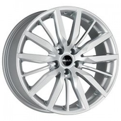 MAK WHEELS CERCHI IN LEGA BARBURY SILVER DA 19