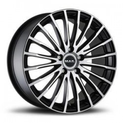 MAK WHEELS CERCHI IN LEGA FATALE ICE BLACK DA 19
