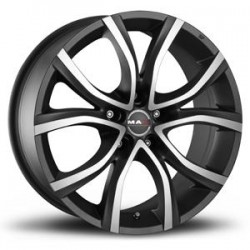 MAK WHEELS CERCHI IN LEGA NITRO 5 ICE TITAN DA 18
