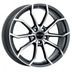 MAK WHEELS CERCHI IN LEGA LOWE FF GUN METAL MIRROR FACE DA 18