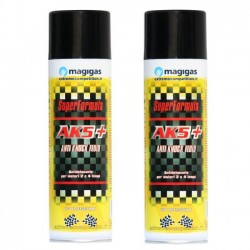ADDITIVO CONCENTRATO PER BENZINA MAGIGAS AK5 + SUPERFORMULA (1 X 500 ml)