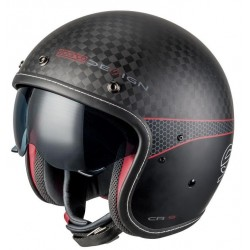 CASCO SPARCO CAFE RACER CARBON CR-1 CON VISIERA TG XL