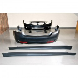 KIT ESTETICO COMPLETO IN ABS BMW SERIE 4 F36 LOOK MTECH
