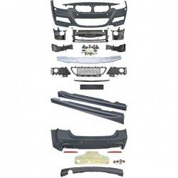 KIT ESTETICO COMPLETO IN ABS BMW SERIE 3 F30 LOOK M