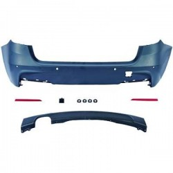 PARAURTI POSTERIORE COMPLETO IN ABS BMW SERIE 3 F31 LOOK M