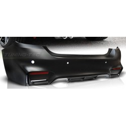 PARAURTI POSTERIORE IN ABS BMW SERIE 4 F32 F33 LOOK M4