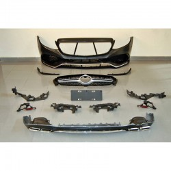 KIT ESTETICO COMPLETO IN ABS MERCEDES CLASSE E W213