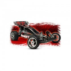 TRAXXAS BANDIT 1:10 EXTREME SPORT BUGGY 2WD RTR