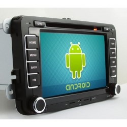 "PHONOCAR MEDIA STATION VM101 VOLKSWAGEN SEAT SKODA BLUETOOTH ANDROID 7"" NEWS"