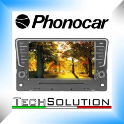 "PHONOCAR MEDIA STATION VM112 VOLKSWAGEN PASSAT DAL 2014 BLUETOOTH ANDROID 8"" NEWS"