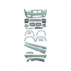 KIT ESTETICO COMPLETO IN ABS BMW X1 E84 LOOK M-TECH