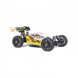 HOBBYTECH BUGGY 1:8 BRUSHLESS EPX2 RTR YELLOW/WHITE