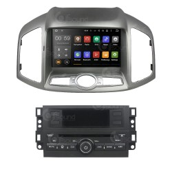 CUSTOM FIT JF-238CCO AUTORADIO CHEVROLET CAPTIVA DAL 2006 ANDROID OCTACORE