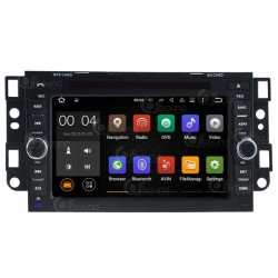 CUSTOM FIT JF-037CCA AUTORADIO CHEVROLET CAPTIVA DAL 2006 ANDROID QUADCORE
