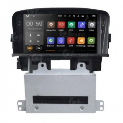 CUSTOM FIT JF-137CCO AUTORADIO CHEVROLET CRUZE DAL 2009 ANDROID OCTACORE