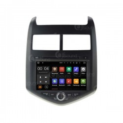 CUSTOM FIT JF-039COO AUTORADIO CHEVROLET AVEO DAL 2010 ANDROID OCTACORE