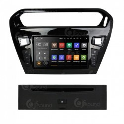 CUSTOM FIT JF-038CEA AUTORADIO CITROEN ELYSEE ANDROID QUADCORE