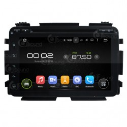 CUSTOM FIT JF-0338HHA AUTORADIO HONDA HR-V DAL 2015 ANDROID QUADCORE