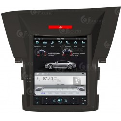 CUSTOM FIT JF-031HCV AUTORADIO HONDA CR-V DAL 2012 ANDROID QUADCORE